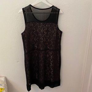 Marc jacobs dress black lace